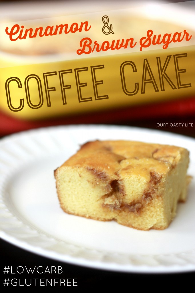 "P3 Cinnamon Brown ""Sugar"" Coffee Cake (Low Carb, Gluten Free, Low ..."